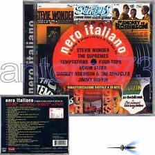NERO ITALIANO CD STEVIE WONDER THE SUPREMES DIANA ROSS MOTOWN ITALY REPRINT