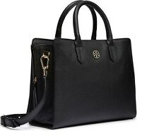 NWT TORY BURCH Satchel Brody Black Leather Tote $475