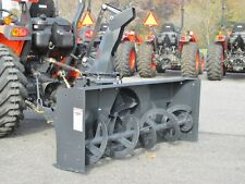 """NEW MK MARTIN METEOR SNOW BLOWER, 60"""",  PTO DRIVE, 3 POINT HITCH, MANUAL SPOUT"""