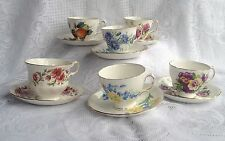 "Lot of 6 Vintage ""Royal Vale"" Tea Cup/Saucers   (950)"