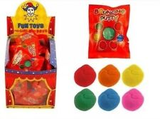 48x Mini Bouncing Putty - Various Assorted Colours 5g Party Bag Fillers Toy UK