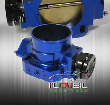 70MM D-SERIES MOTOR ENGINE CIVIC EF EG EK THROTTLE BODY BLUE UPGRADE REPLACEMENT