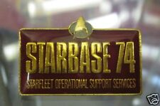 Star Trek Next Generation Starbase 74 Pin Badge STPIN1809