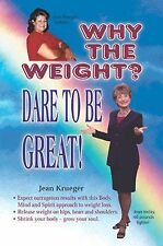 Why the Weight? Diet Book by ex Weight Watchers Leader Weightloss, Paperback