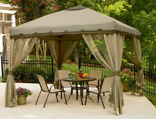 Gazebo Canopy for Tent Party / Wedding, Out Doors Patio Garden Sun Cover 10x10