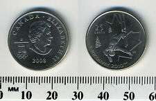 Canada 2008 - 25 Cents Nickel Plated Steel Coin, Q. Elizabeth II, Vancouver 2010