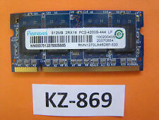 Ramaxel 512mb 2RX16 Pc2-4200s-444 LF RMN1270la46d6f-533 #Kz-869