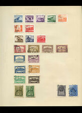Hungary Album Page Of Stamps #V4068