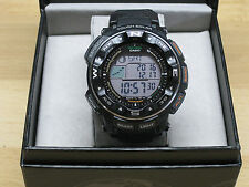 Casio PRW-2500 Pro Trek Tough Solar Battery Sport Watch with Atomic Timekeeping