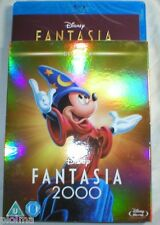 FANTASIA 2000 w/ Classics SLIPCOVER New BLU-RAY Walt Disney Movie w/ Destino