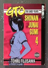 Great Teacher Onizuka GTO The Early Years Shonan Junai Gumi Manga 4 1st Edition