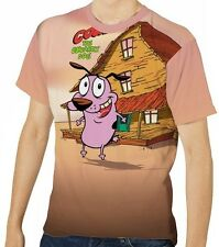 Courage The Cowardly Dog Men's T-Shirt Tee S M L XL 2XL 3XL