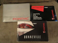 1997 Pontiac Bonneville - OWNERS MANUAL