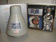 "GI Joe 12"" Astronaut Masterpiece Edition with Vintage 60's Space Capsule"