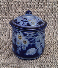 Ancien pot ou poubelle de table poterie ancienne french antique pottery