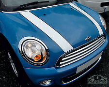 Mini Cooper bonnet stripes genuine easy fit vinyl with factory style pinstripes