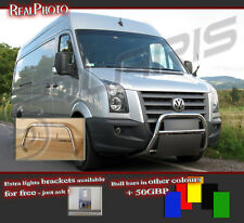 VOLKSWAGEN CRAFTER 06+ BULL BAR WITHOUT AXLE BARS +GRATIS! STAINLESS STEEL!!20
