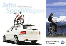 2009 09 VW Jetta & Wagon Accessories oiginal  brochure