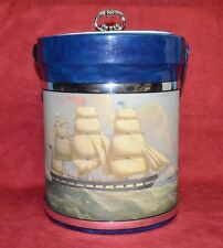 "Seamen's Bank for Savings "" Ice Bucket ""   New/Vintage in Original Box!!!!"