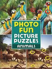 Photo Fun Picture Puzzles: Animals c2011, VGC Paperback, We Combine Shipping