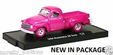 L56  M2 24 MACHINE AUTO DRIVERS 1950 STUDEBAKER 2R TRUCK 1:64 CHASE  LIMITED