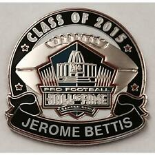 2015 Pro Football Hall of Fame Pin Jerome Bettis Pittsburgh Steelers