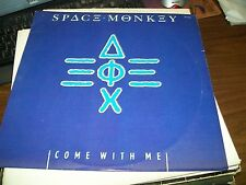 """Space Monkey-Come With Me-12"""" Single-MCA 23592-Vinyl Record-VG+"""