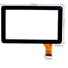 "9"" Touch Screen Replacement Digitizer Glass for 9 Inch Tablet P/N CZY6366A01-FPC"