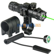 Tactical Green Dot Laser Sight F Airsoft 20mm Picatinny Rail with Mount &Switch