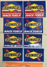 """Sunoco Race Fuels Decal Racing Gas Sticker """"Large Size"""""""