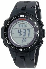 Casio Men's PRW-3000-1 Protrek Triple Sensor Solar Atomic Temp Watch