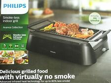 New in Box Philips Avance Collection Smoke-Less Indoor Grill HD6371/94