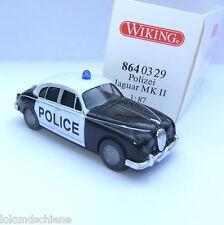 Jaguar MK II Police  Wiking HO 1:87 #558