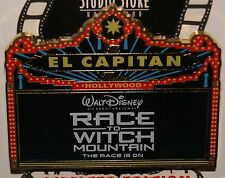 Disney DSF El Capitan Marquee Pin Race To Witch Mountain LE 150 On Card Rare HTF
