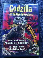 GODZILLA AND OTHER MOVIE MONSTERS - Region ALL DVD - Factory Sealed -