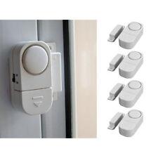 4x Wireless Home Window Door Entry Burglar Security Alarm System Magnetic Sensor