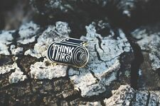 Think First Camera Film Roll Lapel Pin
