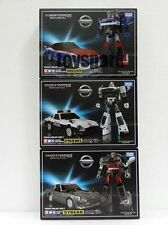 TRANSFORMERS MP17-PROWL +MP18-BLUESTREAK Streak +MP19-SMOKESCREEN (USA Seller