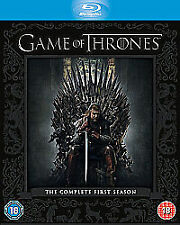 Game Of Thrones - Series 1 - Complete (Blu-ray, 2012, 5-Disc Box Set) NEW/SEALED