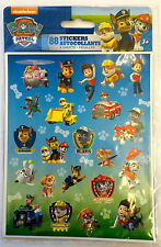 4 Sheets Paw Patrol Stickers Party Favors Teacher Supply Ryder Skye Chase #2