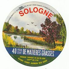 FROMAGE CAMEMBERT SOLOGNE SAINT AIGNAN DES GUES    VAL D OR