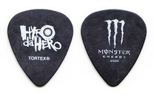 Hyro da Hero Black Monster Energy Guitar Pick - 2012 Tour