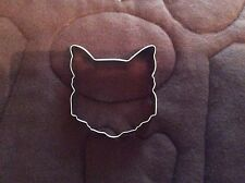 Cat Face 4'' Cookie Cutter New!