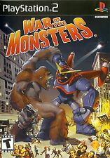War of the Monsters - Playstation 2 Game Complete