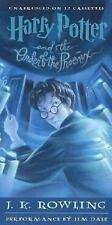 Harry Potter and the Order of the Phoenix Unabridged Audio Book 17 Cassettes NEW