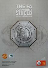 FA COMMUNITY SHIELD 2013: Manchester United v Wigan