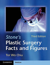 Stone's Plastic Surgery Facts and Figures, Chiu, Tor Wo, Very Good condition, Bo