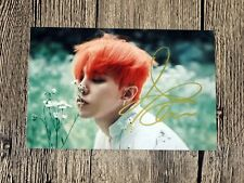 BIGBANG G-Dragon Autographed MADE Photo new Korea 4*6 freeshipping 07.2016 C