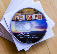 Log Home Restoration DVD - Detailed Step by Step With 30 Year Master Logsmith