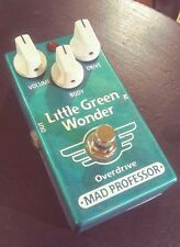 Mad Professor Little Green Wonder Overdrive Pedal with original box.
